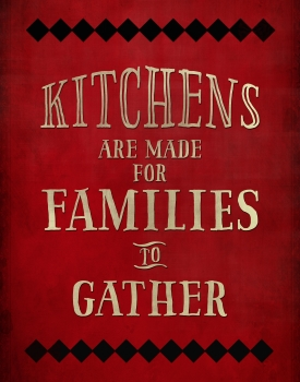Kitchens are Made for Families
