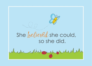 She Believed She Could - 2